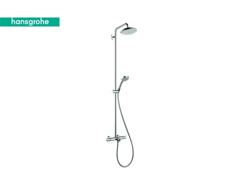Croma 220 Varia Top Showerpipe