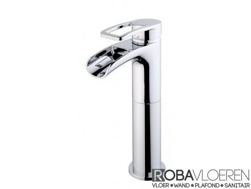 Alegra XL wastafelkraan waterval chroom