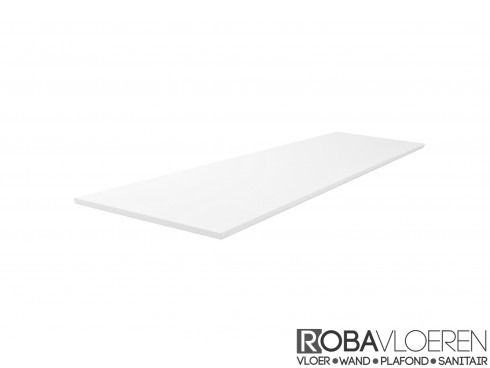 Sheet topblad 120 x 46,5 cm wit